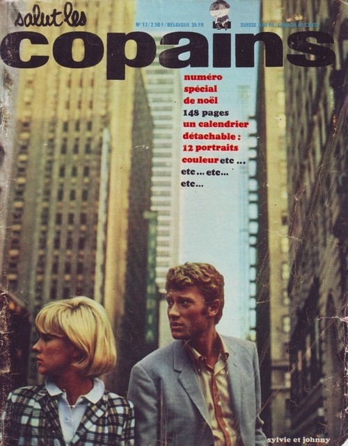 Johnny Hallyday & Sylvie Vartan in New York - SLC cover