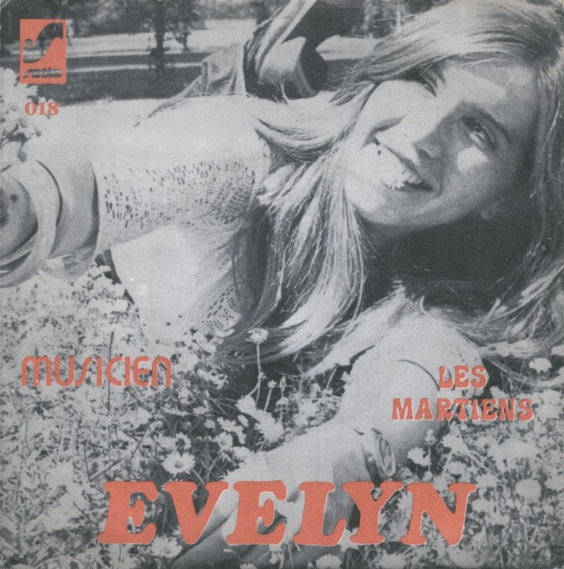 Evelyn record sleeve