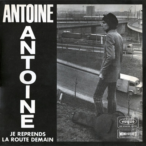 Antoine - Je reprends la route demain cover