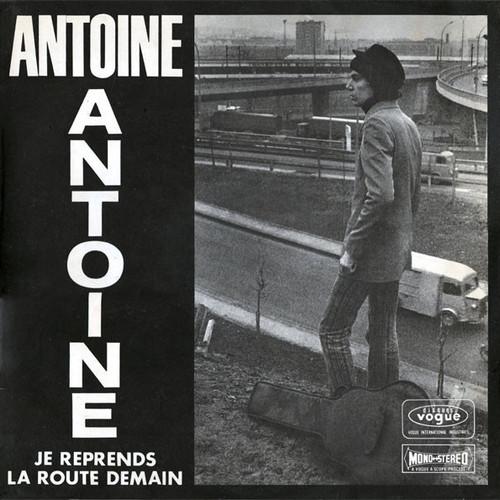 Antoine - Je reprends la route demain cover