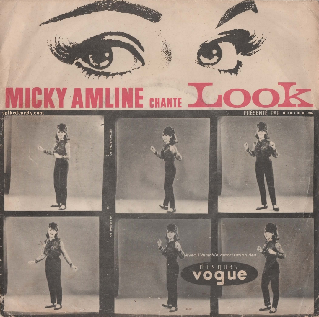 Micky Amline - Look (front cover)